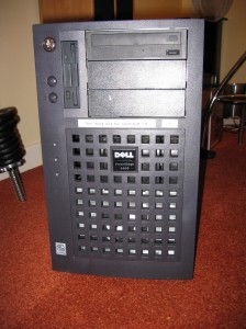 Old dell server that used to run the weather station