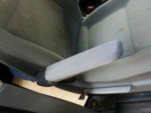 Armrest fitted